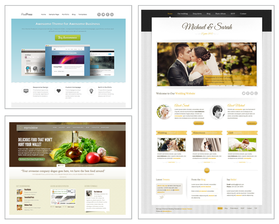 Grafikstudio Rostock I WordPress Website I Besipiele WordPress Themes