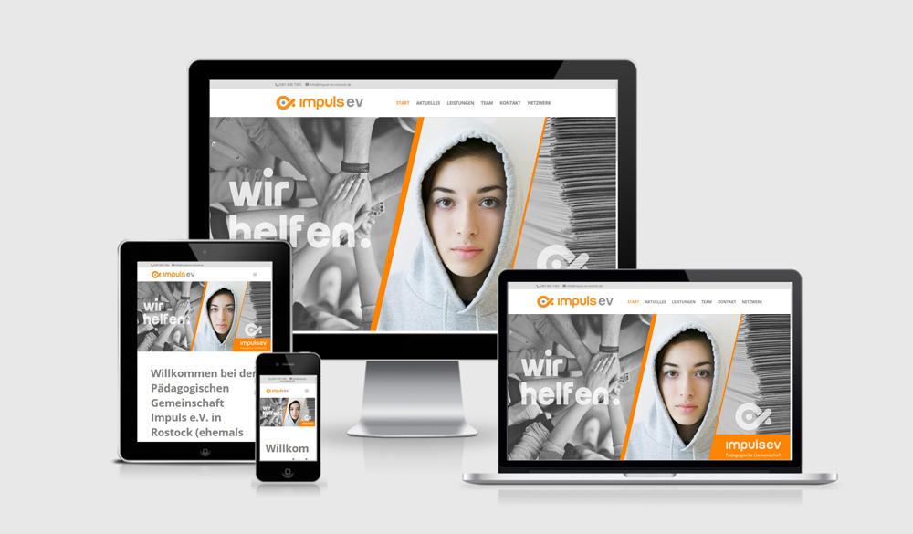 webdesign rostock verweinswebsite