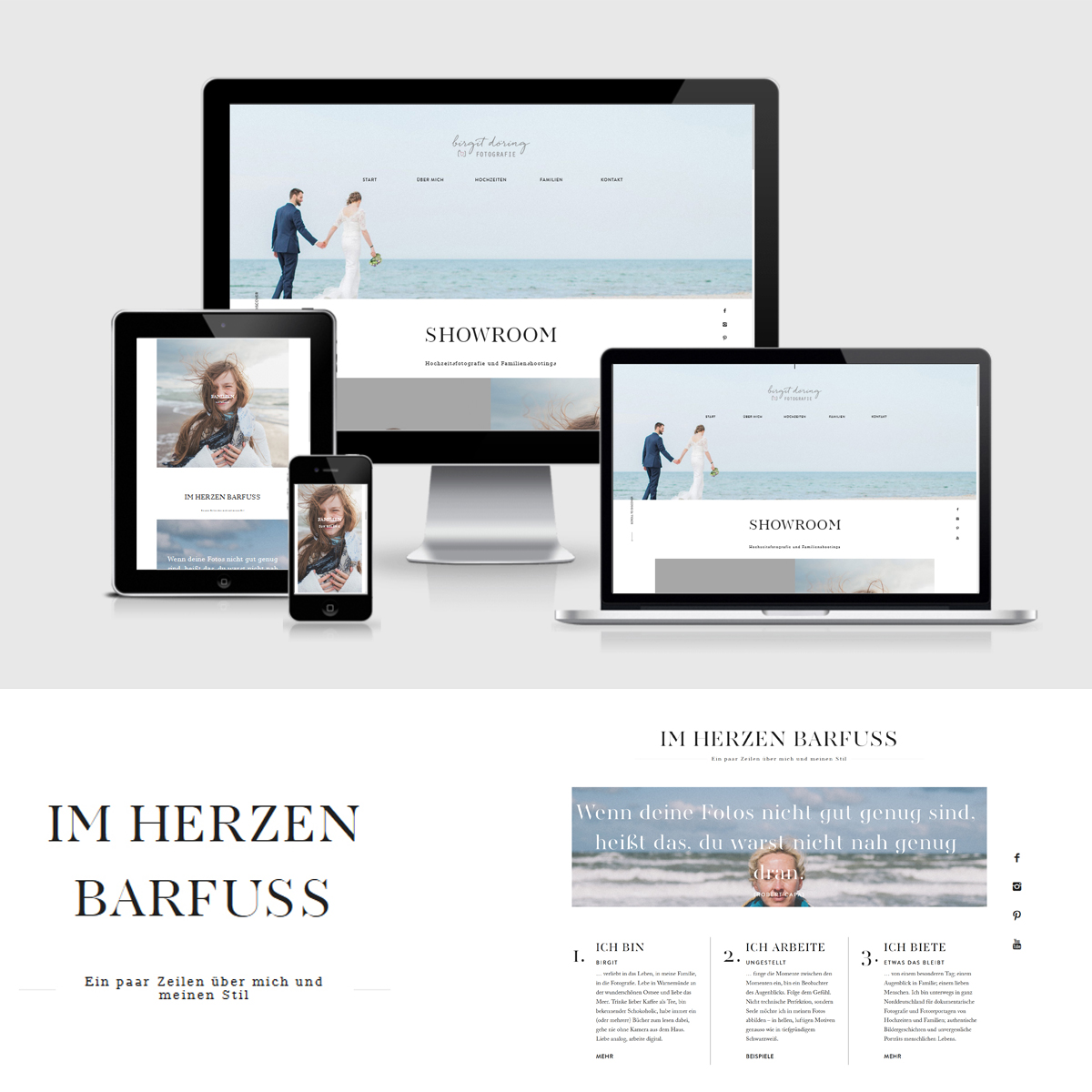 Website Webdesign Fotografie Rostock