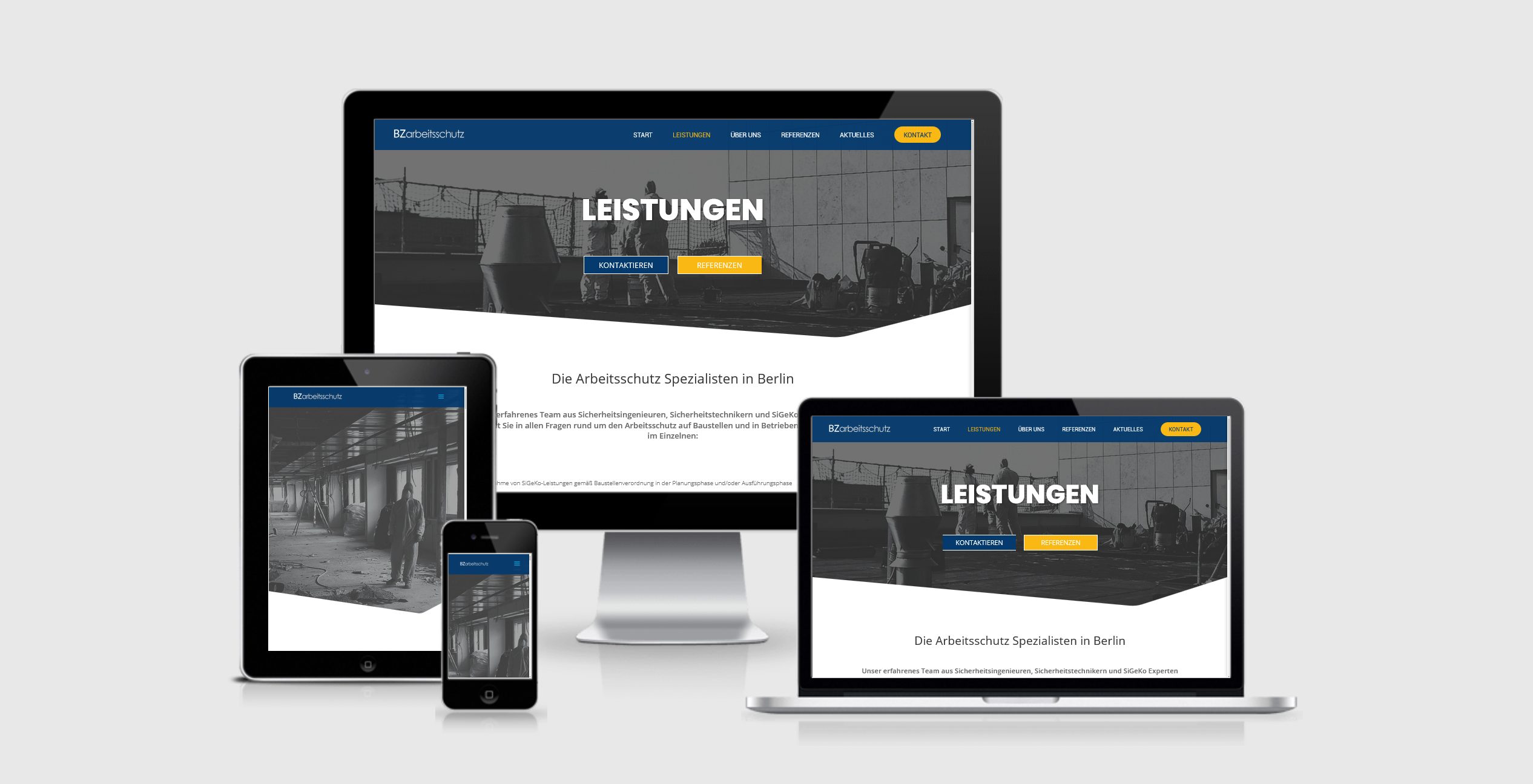 website sicherheitsingenieur webdesign