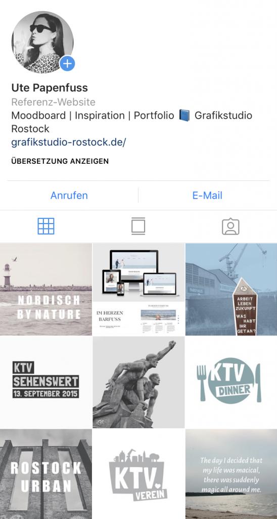 Grafikstudio Rostock Ute Papenfuss Webdesign
