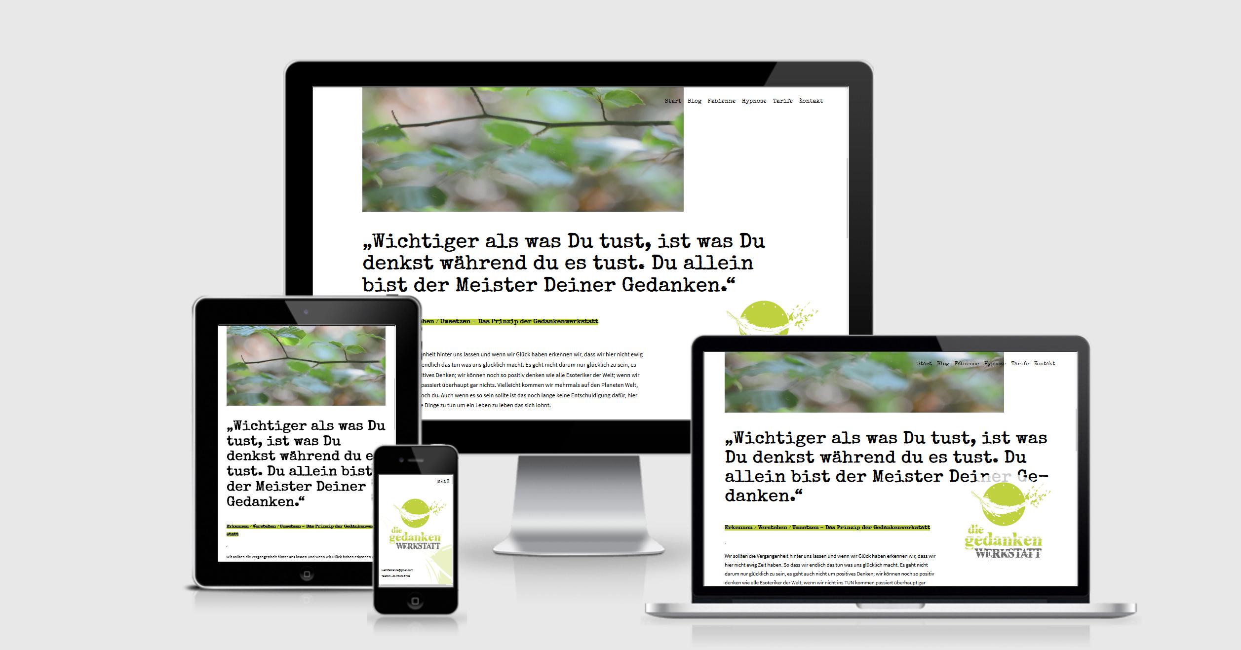 Webdesign Personal Blog