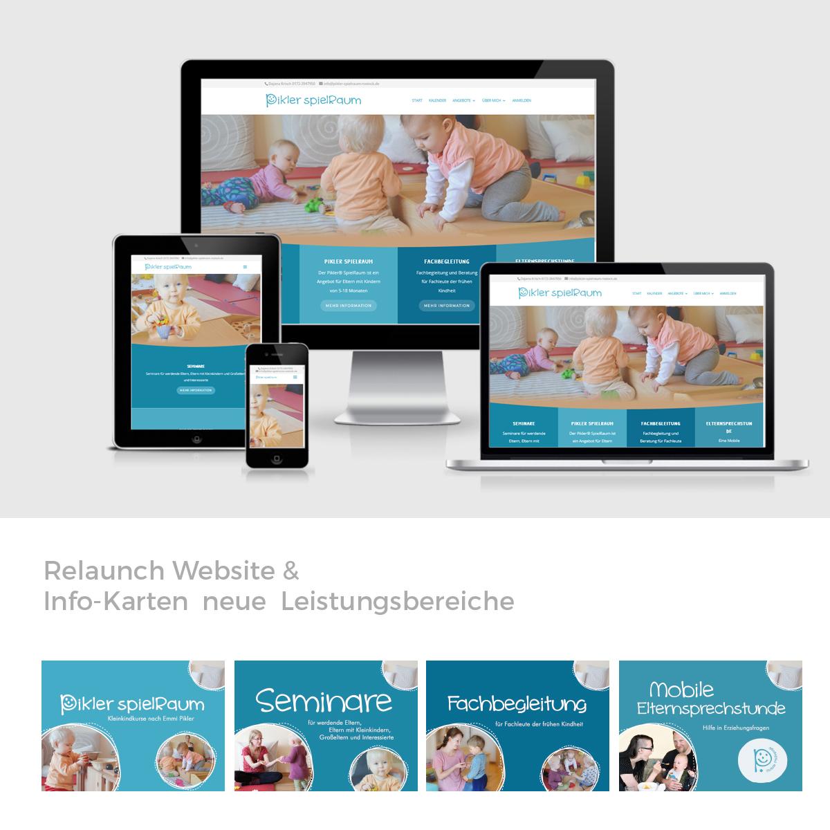 Webdesign Kindergarten Rostock