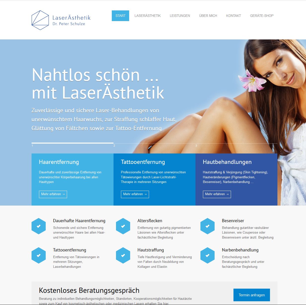webdesign wordpress rostock arzt